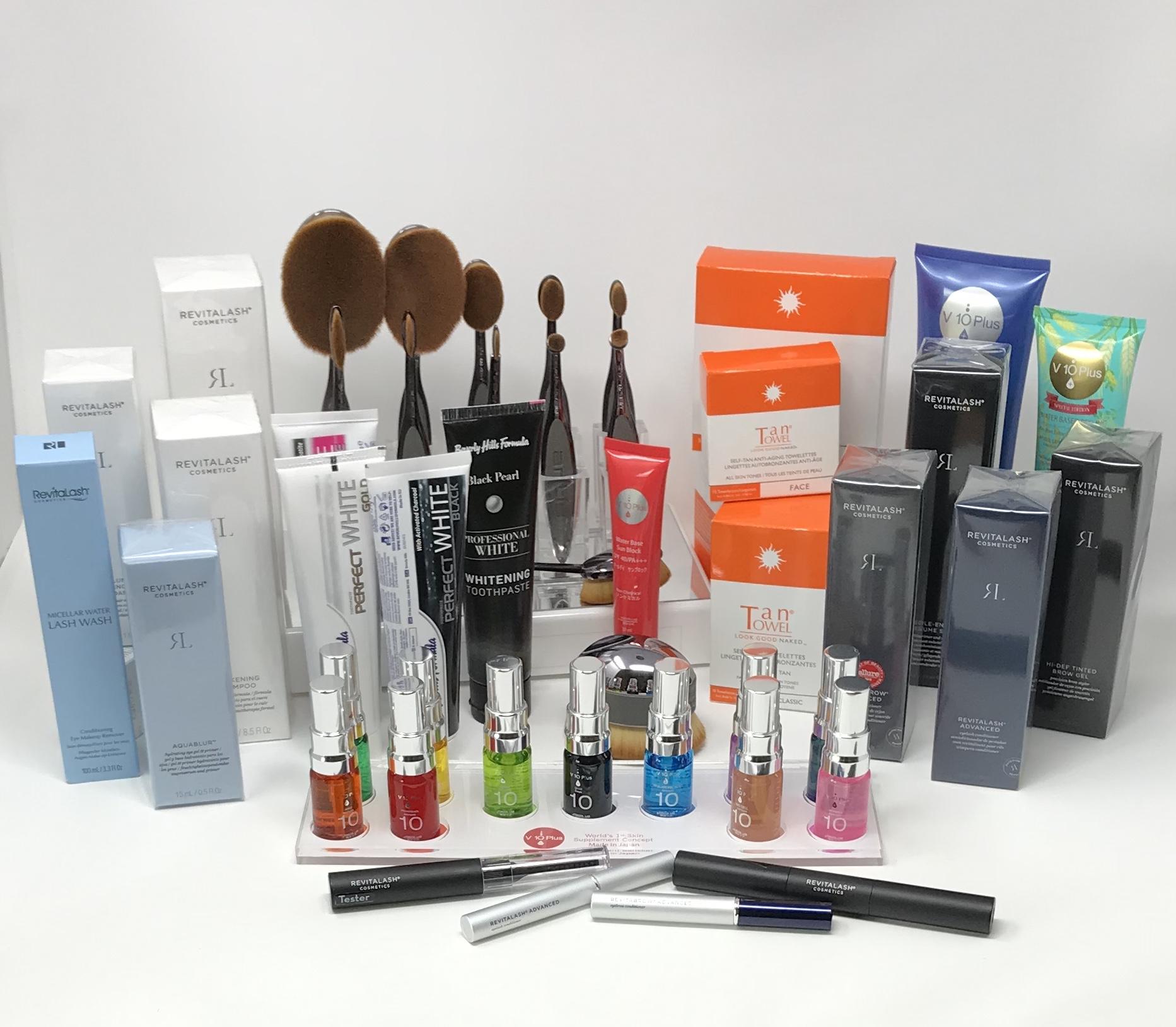 Distribution de produits et accessoires cosmétiques haut de gamme